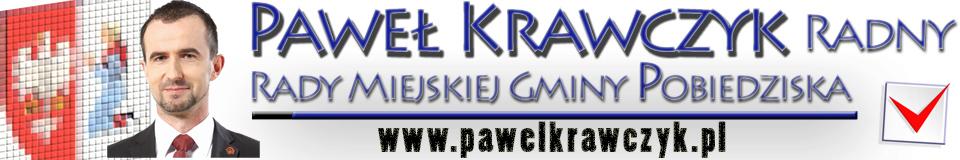 Paweł Krawczyk – Radny Rady Miejskiej Gminy Pobiedziska